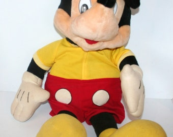Very Large Mickey Mouse Plush Toy.