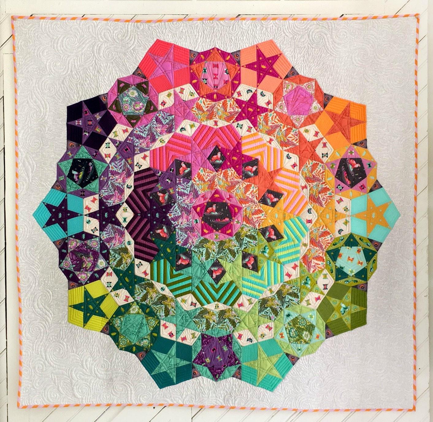 Tula Nova Quilt Pattern featuring Spirit Animal by Tula Pink : tula pink quilt kits - Adamdwight.com