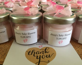 Candle party favor etsy 15 mini candles baby shower party gift baby shower favours baby showers gift negle Choice Image
