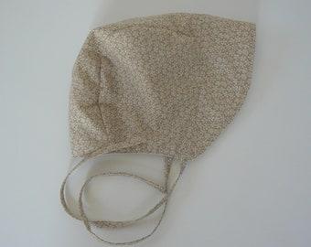 12/18 Month Bonnet, Baby Bonnet, Summer Sunbonnet, Sunhat