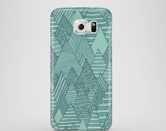Forest mobile phone case / Samsung Galaxy S7, Samsung Galaxy S6, Samsung Galaxy S6 Edge, Samsung Galaxy S9 / green phone case