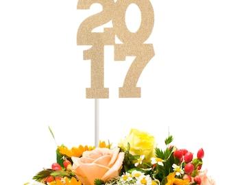 2017 Graduation Centerpiece Stick, 2017 Graduation Cake Topper, Graduation Table Decoration, Graduation Party Decoration, Graduation Wand