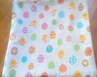 colorful eggs chicks bag