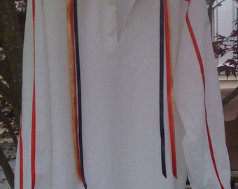 American Indian Ribbon Shirt