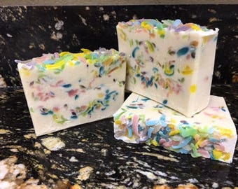 Spring Has Sprung Goat Milk Soap created by Nanny's Udderly Smooth
