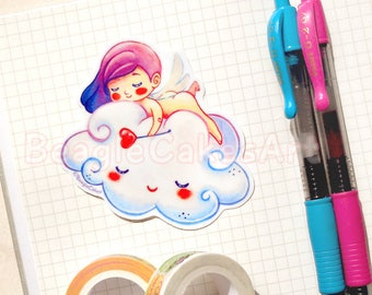 Cupid Sticker. Anime Sticker. Waterproof Sticker. Laptop Sticker. Laptop Decals. Scrapbook Decoration. Planner Sticker. Journal Sticker.