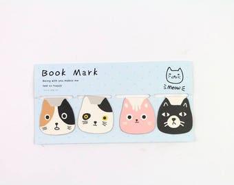 Cat head Magnetic Bookmark PA1010C