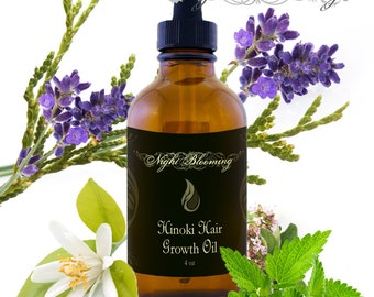 Hinoki Hair Growth Support Signature Oil 4oz