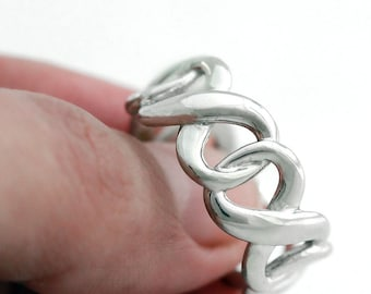 Twisted Ring Band 14k Love me Knot Ring Infinity Knot ring Eternity Wave Wedding Rings, Purity Ring Wedding White Gold Anniversary gift