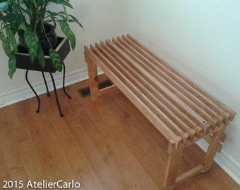 Entryway bench, bathroom, sauna, pool, mudroom, deck, backyard, dressing room bench