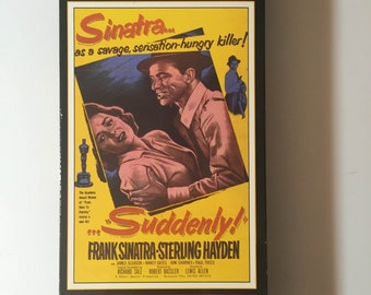 Suddenly 1954 Film (VHS) Frank Sinatra