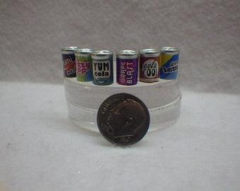 Soda Can Miniatures for Fairy Garden or Dollhouse