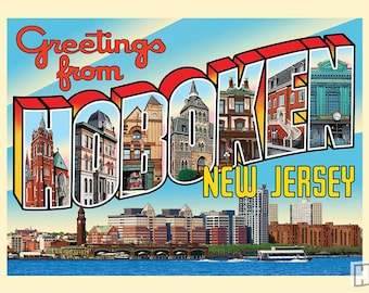 Greetings from Hoboken, New Jersey poster