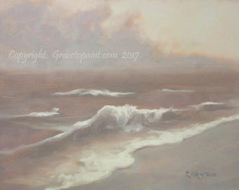 Endless...Original Oil Painting by Maresa Lilley, SND