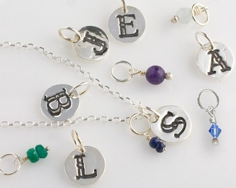 Letter Initial Charm - Fine Silver .999