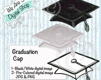 We Are 3 Digital Shop, Graduation Cap,  Graduate