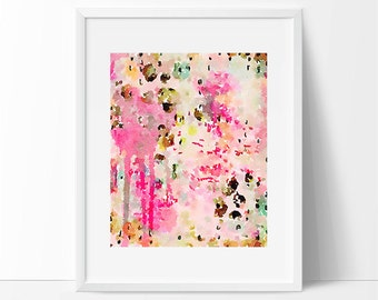 Scandinavian art, art for the home, watercolor art, watercolor painting, modern painting, abstract painting, giclee fine art print, art