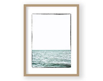 Coastal Decor, Sea Print, Beach Decor, Sea Photography, Beach Photography, Coastal Wall Art, Beach Wall Art, Blue Wall Decor, Coastal Prints