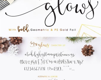 Mrs Glows Modern Calligraphy Font Download with Bonus