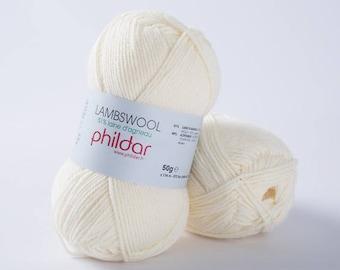 "wool LAMBSWOOL unbleached ""Garance"""