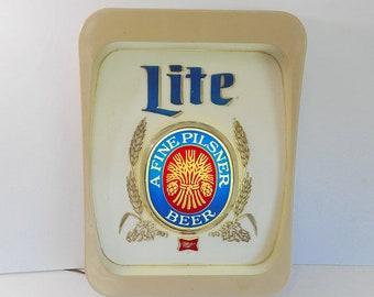 Miller Lite Beer Light Bar Light