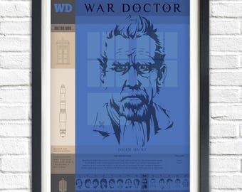 Doctor Who - The WAR Doctor - 19x13 Poster