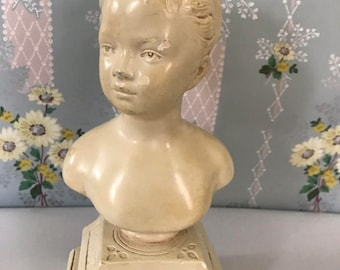 French girl bust from the sixties.