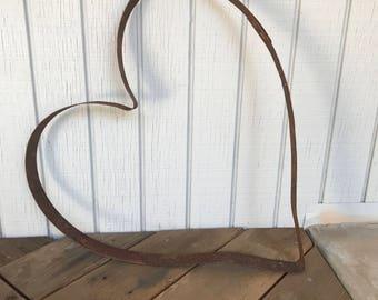 Wine Barrel Hoop Heart