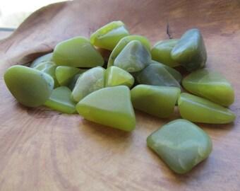 Healerite Serpentine from Oregon Medium Tumbled Stones
