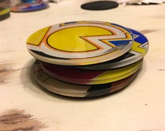 Arcade Marquee Coasters