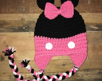 Minnie Ear Flap Hat
