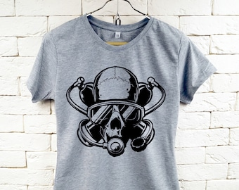 SCUBA DIVER UNDERWATER sniper Cool Gray T-Shirt For Women