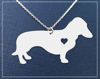 Dachshund Necklace, Dachshund Jewelry, Dachshund Pendant, Dachshund Gift, Dog Lover Necklace, Dog Pendant