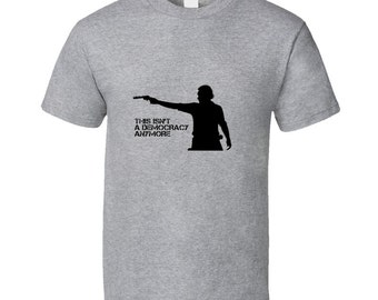 Rick Grimes Decomcracy Walking Dead Tshirt
