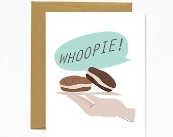 Whoopie! Greeting Card