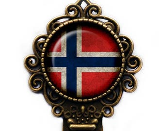 Nowary Norwegian Flag Bookmark