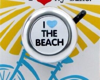I Heart the Beach Bike Bell