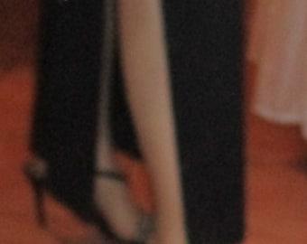 SALE to CLEAR Vintage 90's Diamante Strutt High Heel Sandals 9 7 40