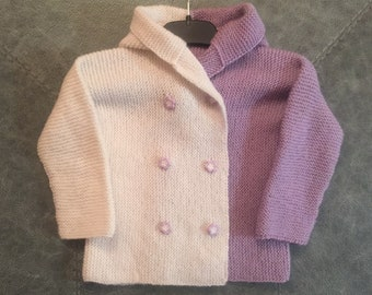 Baby Cardigan, Woolen Jacket, Knitted Jacket for Baby, Baby Knitted Clothing, Vest For Baby
