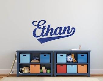 Personalize Custom Name Kids Room Boy Nursery Vinyl Decor Wall Art Decal Sticker Mural!