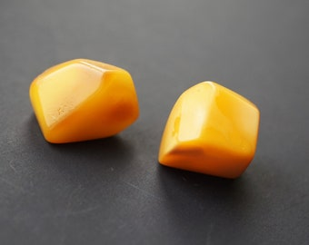 Natural Baltic amber earrings 4.6g