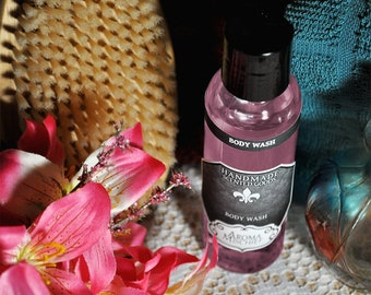Magnolia Body Wash   Highly Scented   Shower Gel   Liquid Soap   Bath Gift   Bath and Body Gift   Body Soap   Aroma Mischief