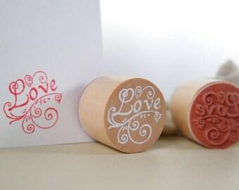 Love: Romantic pad, 3 x 2.4 cm