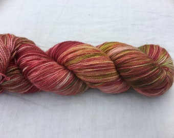 Purified by Winter: Snow-dyed yarn 2018