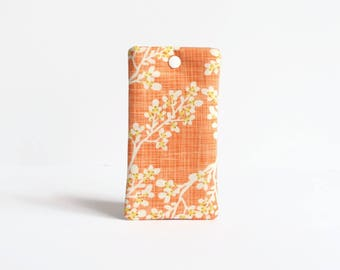 iPhone X Case, iPhone 8 Plus Sleeve, iPhone 7 Padded iPhone Sleeve - Orange Blossom