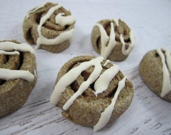 CinnaMutt Swirls Gourmet Dog Treats ~ Homemade Dog Bakery Biscuits ~ Cinnamon Bun Dog Cookies ~ Healthy Dog Treats ~ Dog Snacks ~ USA Made