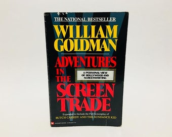 Vintage Writing Book Adventures in the Screen Trade by William Goldman 1998 Softcover