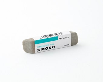 Tombow MONO sand eraser for pen, ink, colored pencil