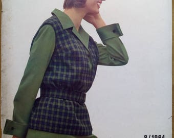 Praktische Mode 8/1964 Sewing pattern magazine