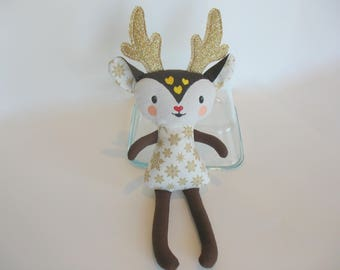 Reindeer Stuffie **Tiny**